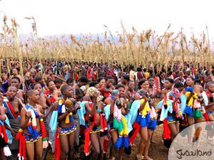 El baile del junco, Swazilandia