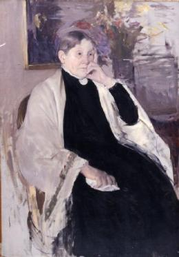 Mrs.Robert S. Cassatt, The mother's artist