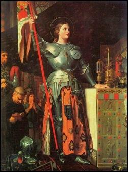 Juan de Arco por Ingres