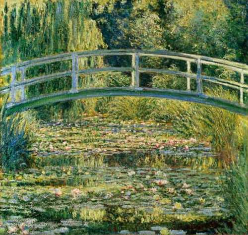 El estanque de lirios, Claude Monet