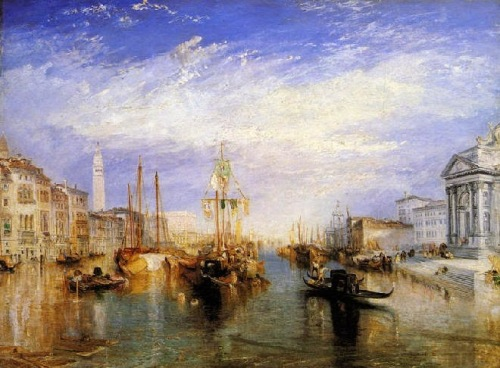 El gran canal, William Turner