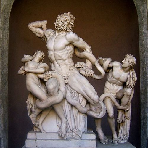 Laocoonte y sus hijos, Museos Vaticanos