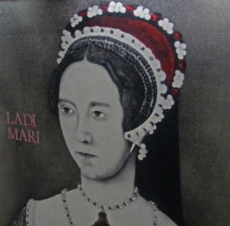 Mary Tudor, imagen London tube