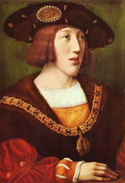 Joven Emperador Carlos V