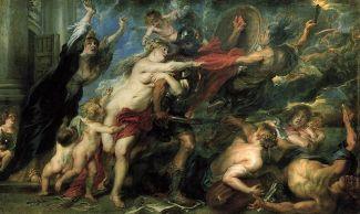 Los Horrores de la Guerra, P.P. Rubens, Palacio Pitti