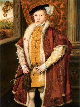 Eduardo VI de Inglaterra hacia 1546