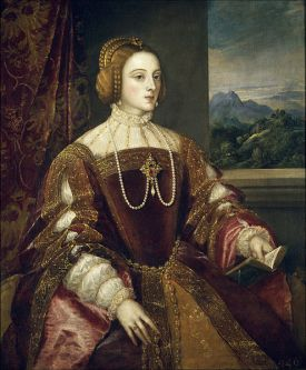 Isabel de Portugal, 1548, Tiziano