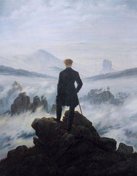 Caspar David Friedrich, El Viajero ante un Mar de Niebla