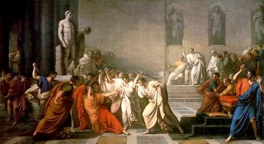 La Muerte de Julio César, Vincenzo Camuccini, circa 1798