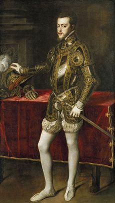 Felipe II de España (1551), Tiziano