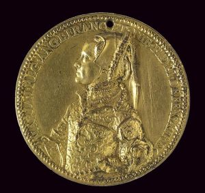 Medalla de Oro de Mary Tudor