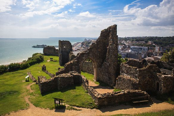 Castillo derruido de Hastings