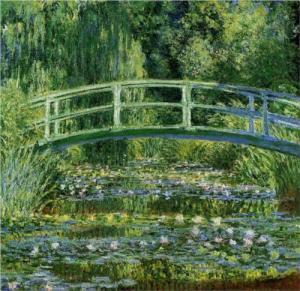 el puente japonés Monet