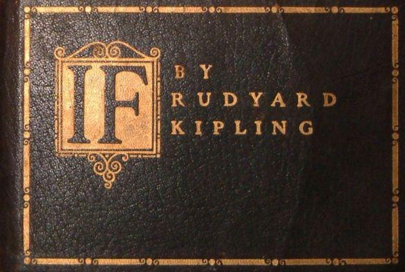 If Rudyard Kipling